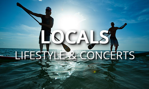 Locals lifestyle and concerts