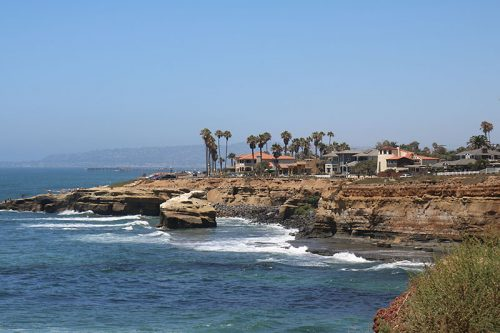 Sunset Cliffs, San Diego, CA